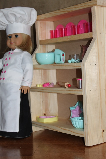 Made Pieces For Reese 18 Quot Doll Dining Room Hutch