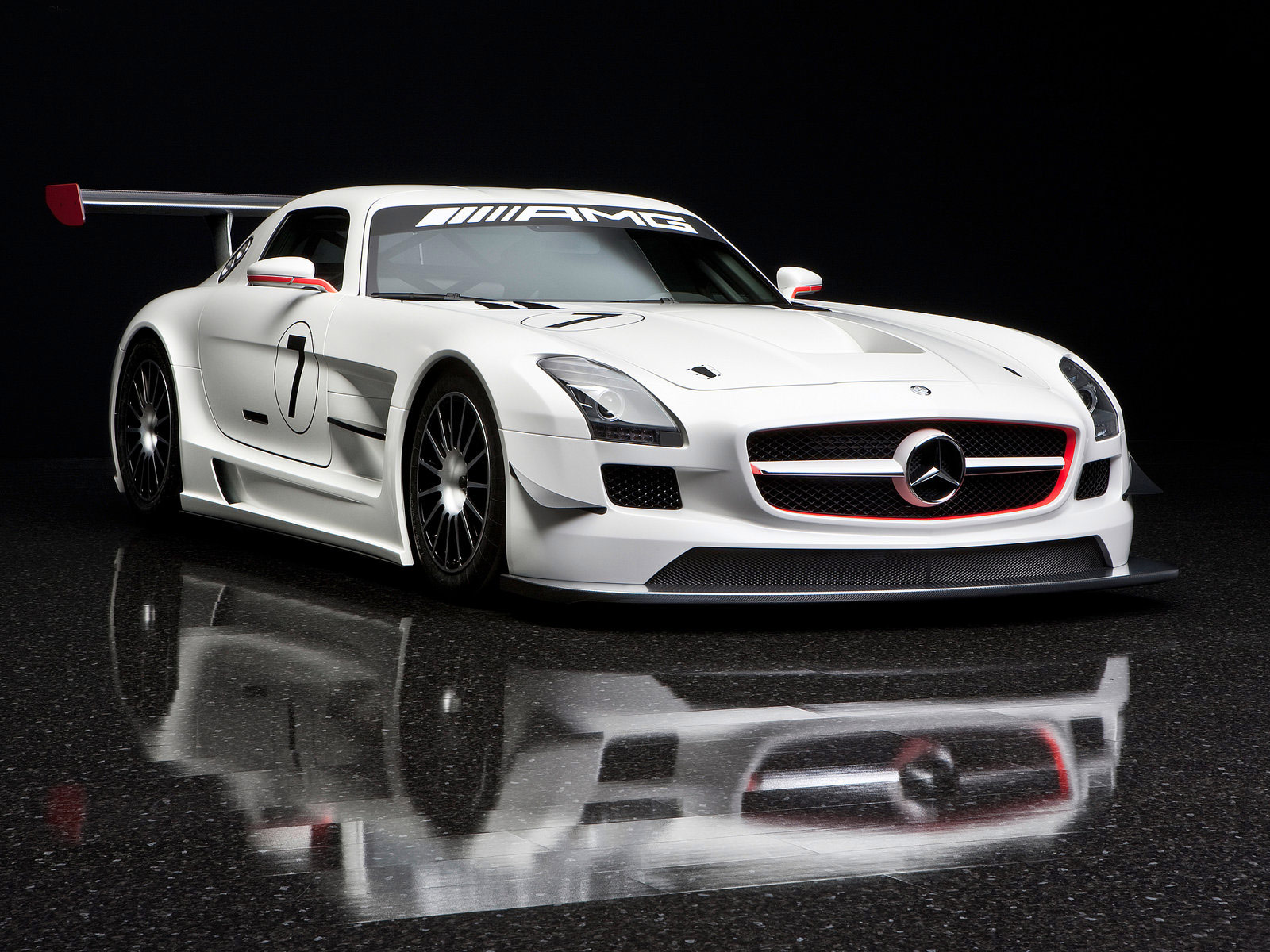 2011 mercedes benz sls amg gt3 car wallpaper. Black Bedroom Furniture Sets. Home Design Ideas
