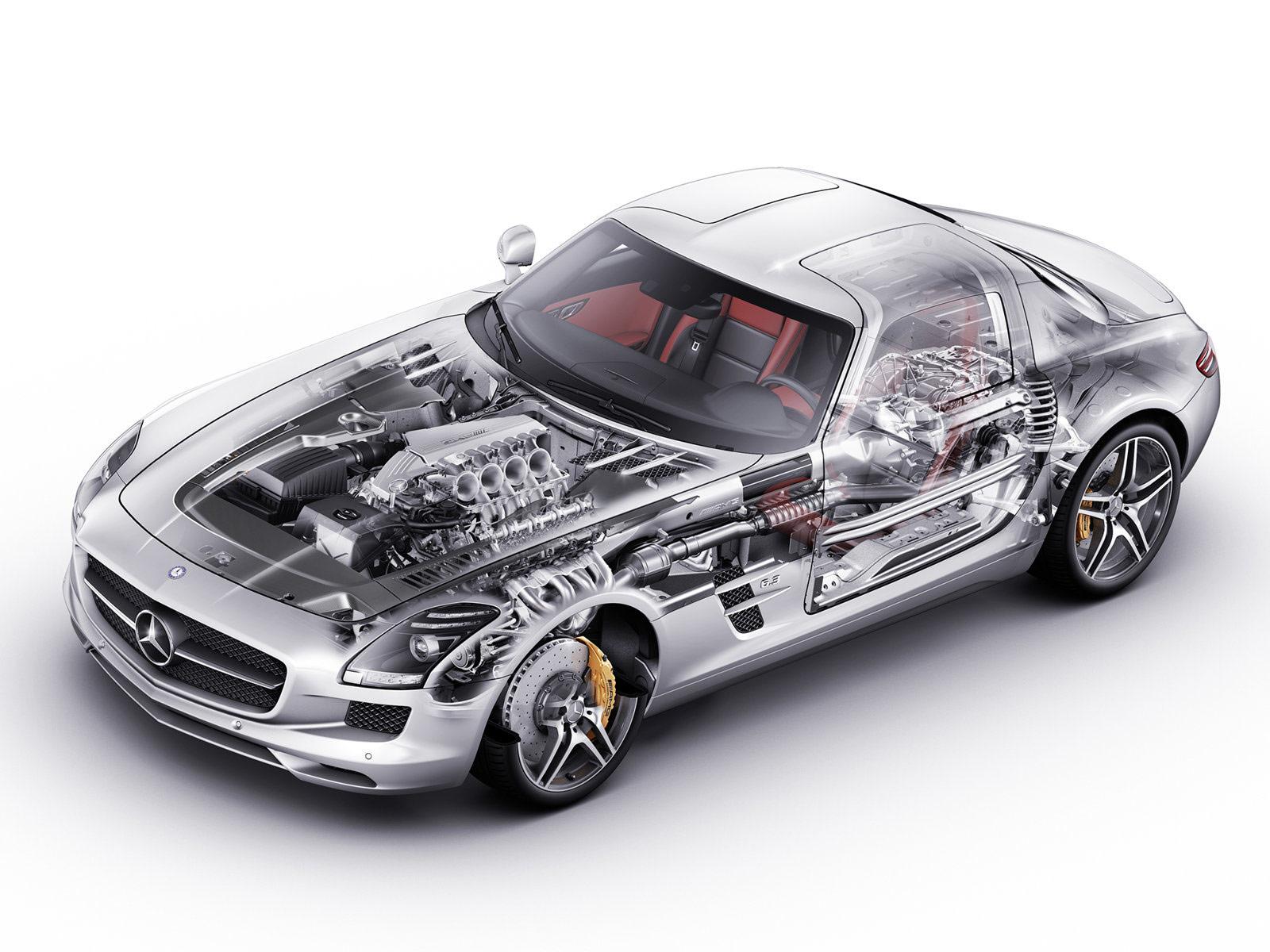 Super luxury car super car mercedes benz sls amg 2011 for Mercedes benz car