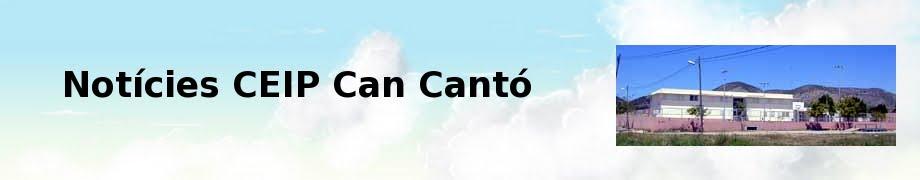 Notícies CEIP Can Cantó