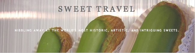 Sweet Travel Blog - a website about cakes, cookies, confectionery, and culture.