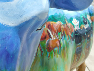 Painted Cow 9