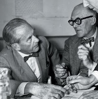 Walter Gropius and Le Corbusier Picture