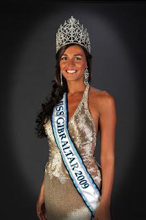 Kaiane Aldorino's Miss Gibraltar 2009 Picture