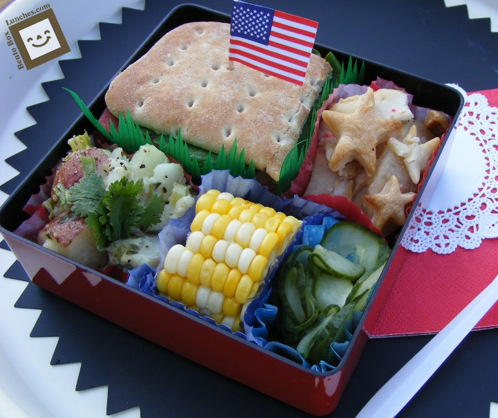 bento box lunches by j b july 2010. Black Bedroom Furniture Sets. Home Design Ideas
