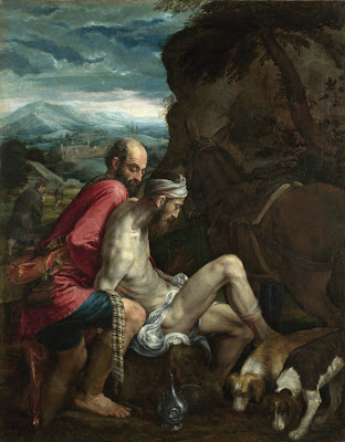 The Good Samaritan Jacopo Bassano