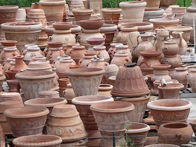Nel mondo di pimpinella la terracotta meraviglia di - Vasi terracotta da giardino ...