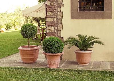 Nel mondo di pimpinella la terracotta meraviglia di for Anfore terracotta da giardino
