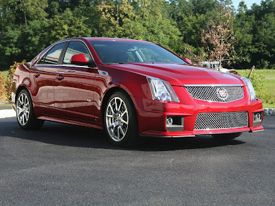 the car enthusiast online 2009 cadillac cts. Black Bedroom Furniture Sets. Home Design Ideas