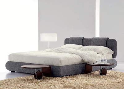 Contemporary Furniture House Pad Basso Bed o