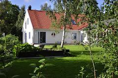 Baksidan av huset sommaren 2010