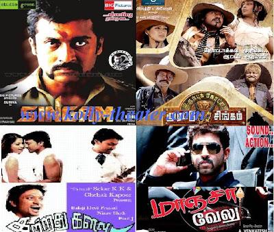 chennai box office-singam, irumbukottai murattu singam,kattradhu kalavu,maanja velu