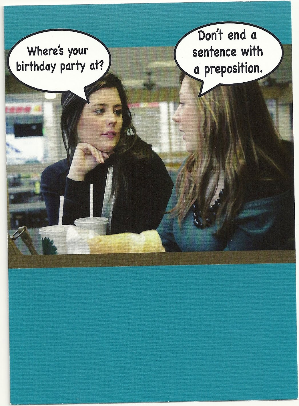 LLOL Literally Laughing out Loud Birthday um wishes – Blunt Cards Birthday