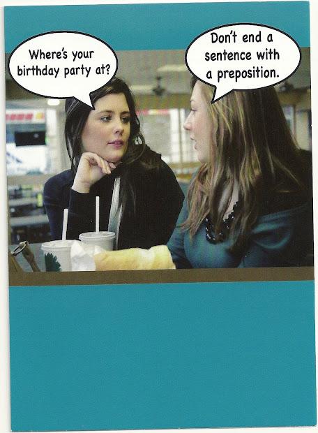 Blunt Cards Funny Birthday Cake Vtwctr