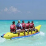 banana boat, watersport, bali, tanjung benoa