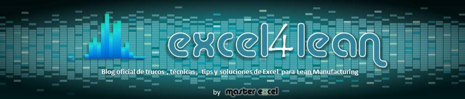 Excel para Lean Manufacturing