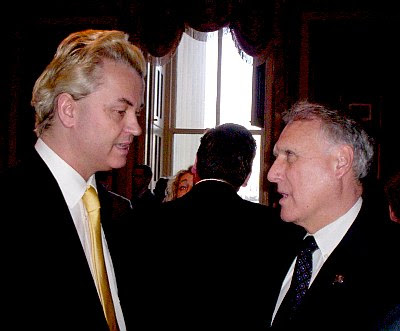 Geert Wilders and Sen. John Kyle in the LBJ Room
