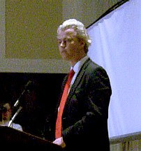Geert Wilders at the NPC
