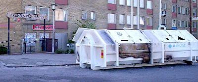 Malmö: Herrgården dumpsters