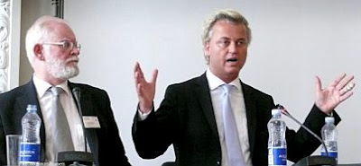 Lars Hedegaard and Geert Wilders