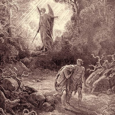 Cast Out From Eden, by Gustav Doré