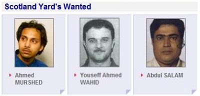 Scotland Yard's Wanted #1