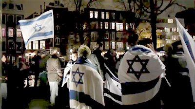 Amsterdam Kristallnacht commemoration #2