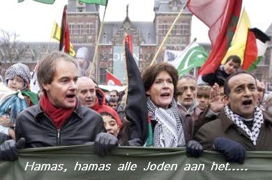 Hamas, Hamas, alle joden aan het gas