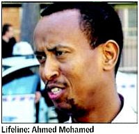 Ahmed Sheikh Mohamed, taxi driver