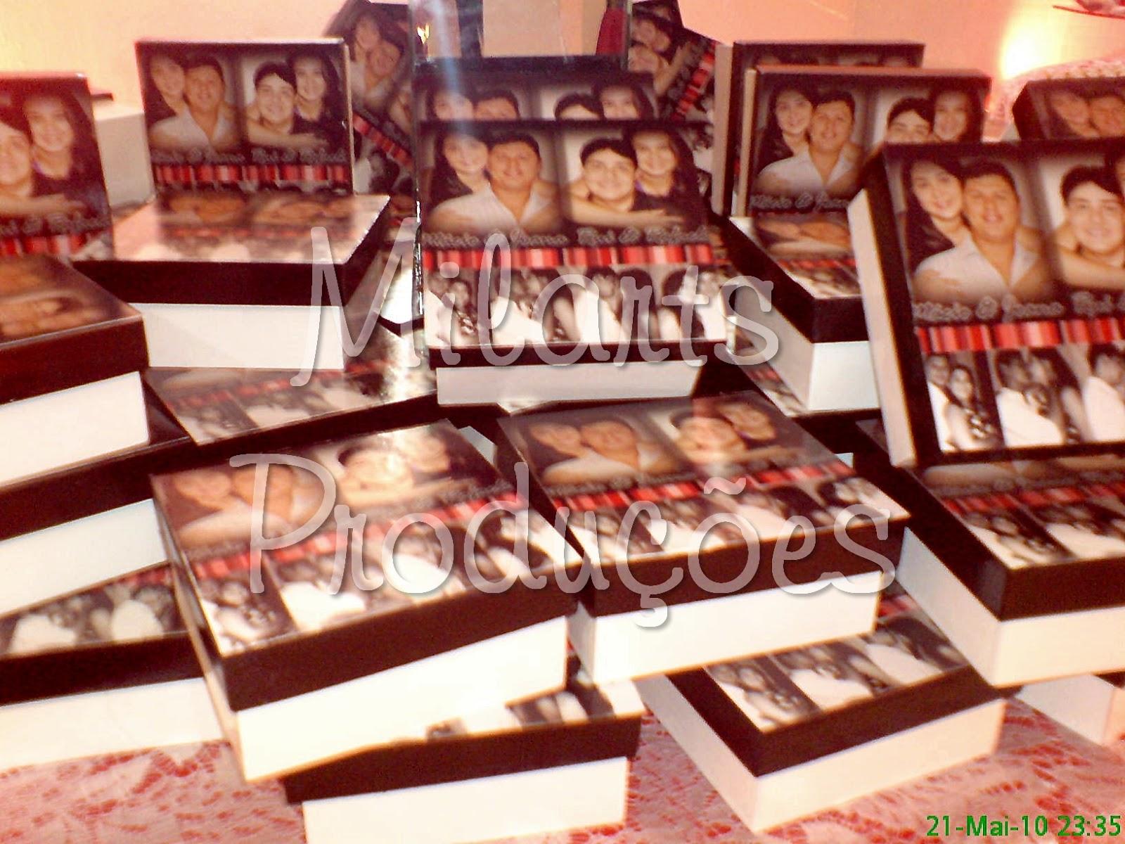: Lembrança de casamento: Caixa de madeira personalizada com fotos #44080B 1600x1200