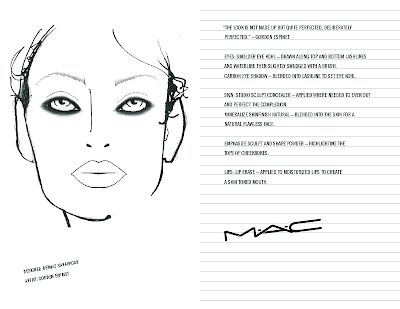 New York Fashion Week: M·A·C Daily Face Chart Report from Tuesday, February 17