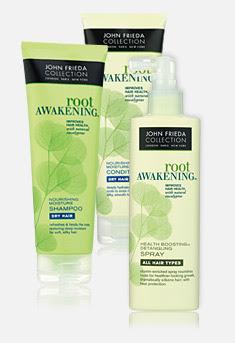 John Frieda Collection: root AWAKENING Hair Care System Giveaway