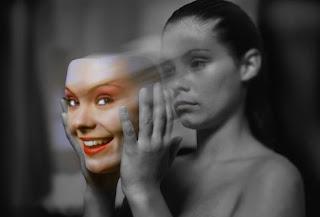 Картинка на тему психологии по мотивам фильма Маска.