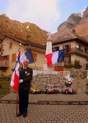 Robert DULAC - Porte-drapeau du Souvenir Français Comité Maurienne