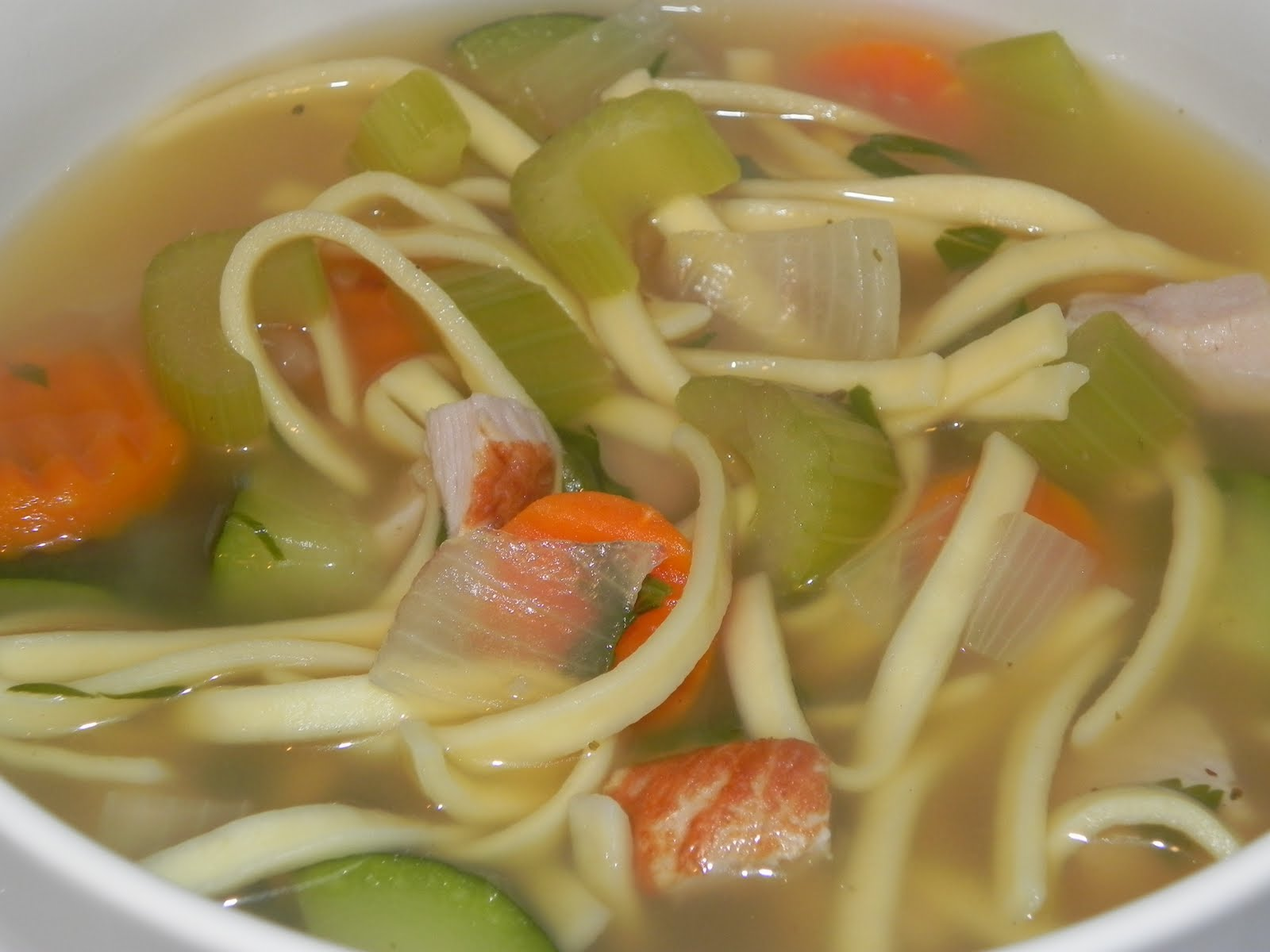 Farrah's Food Adventures: Turkey Noodle Soup