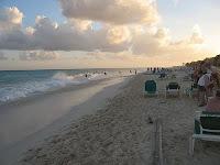 Sundown in Playa del Carmen. Photo by Joshua Hinsdale