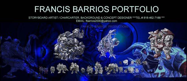 FRANCIS  BARRIOS  PORTFOLIO