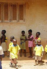 School children in Patasi