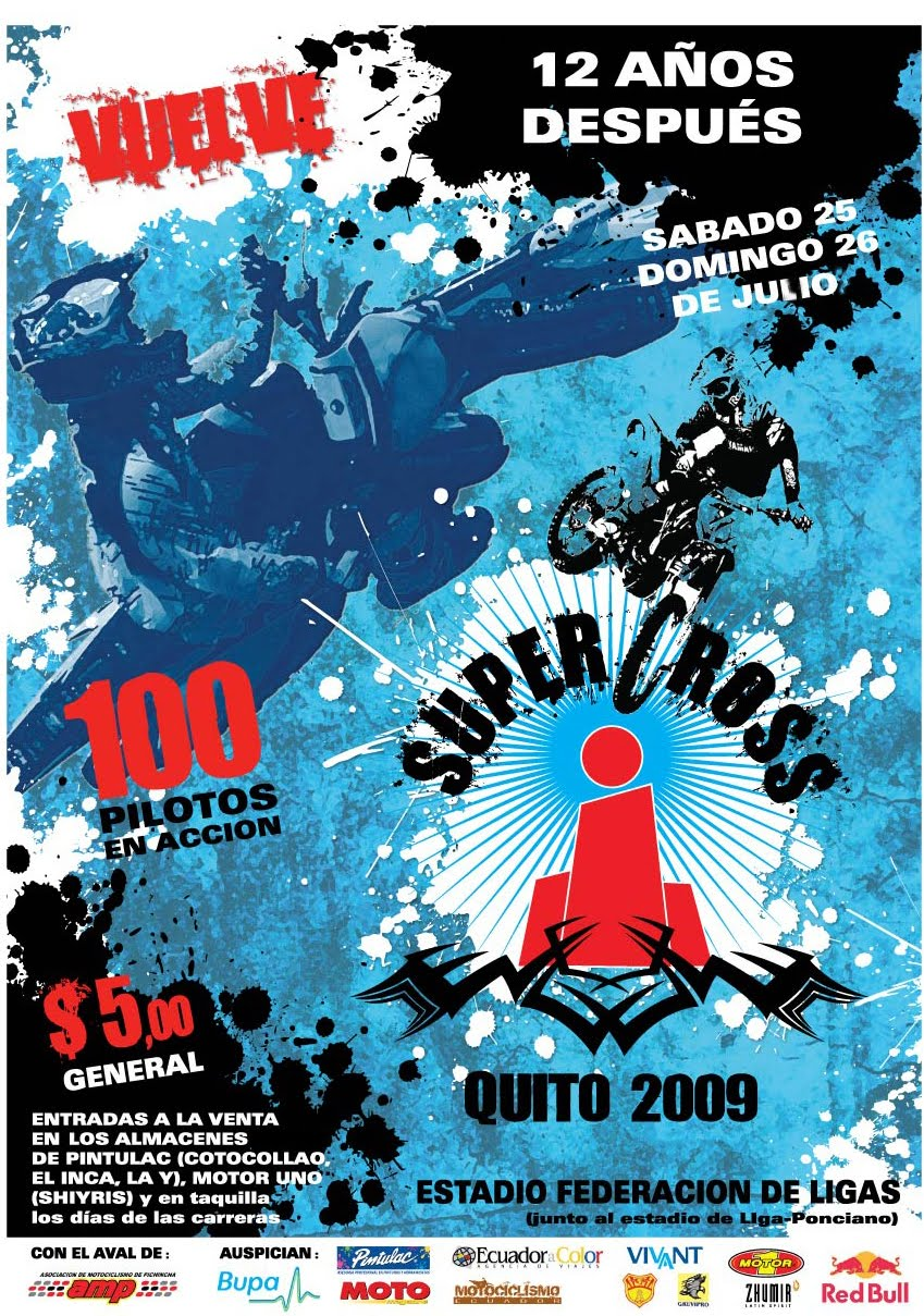 SUPERCROSS  QUITO 2009