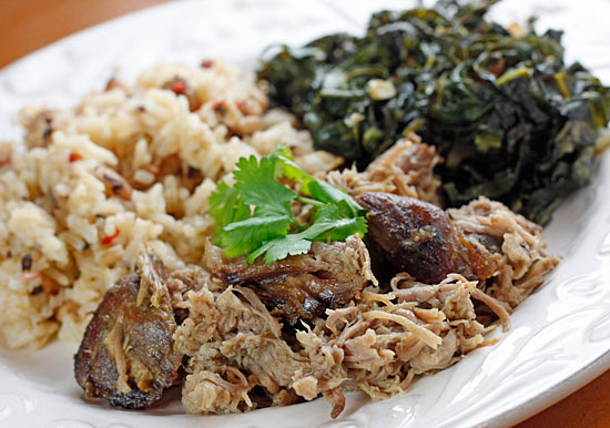 At home with the Leymons: Skinny Slow-Cooker Pernil (Roast Pork)