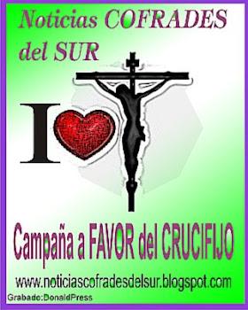 Yo amo el CRUCIFIJO y a CRISTO. Campaña a favor del Crucifijo
