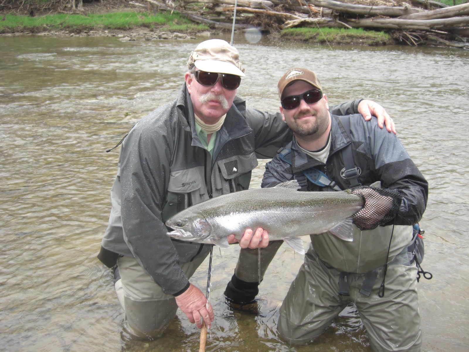 Steelhead alley outfitters lake erie fly fishing guide for Lake erie fishing