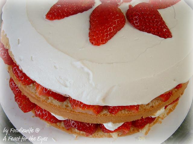 Cooks Test Kitchen | Beautiful Creamy Strawberry Cream Cake From America S Test Kitchen
