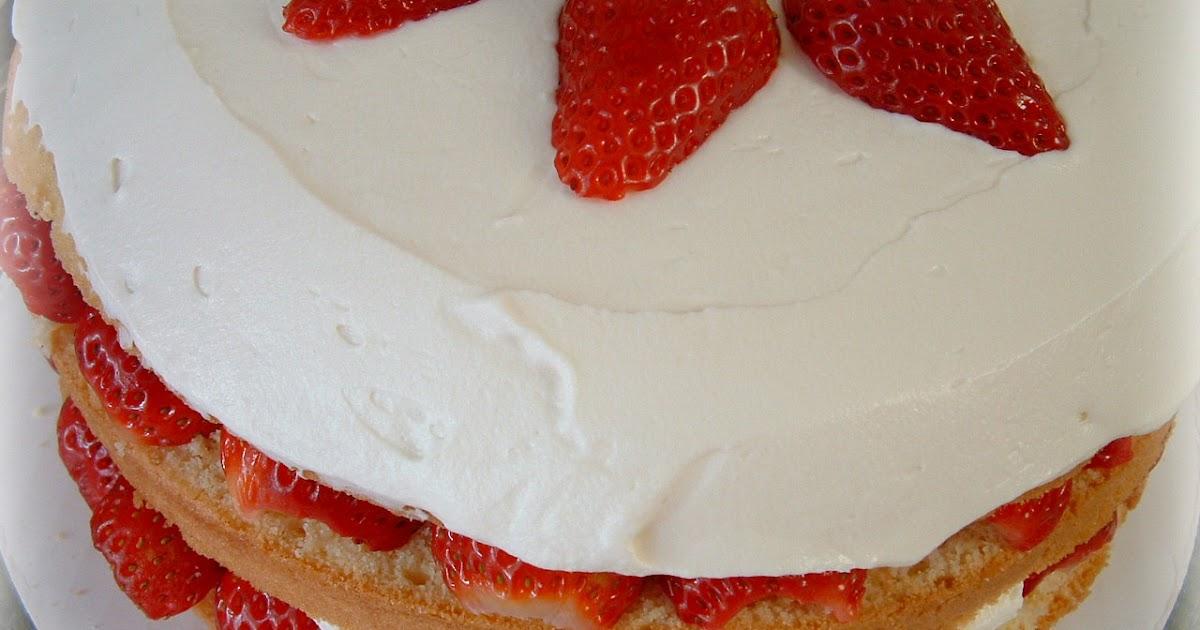 Strawberry Cream Cake Cook S Illustrated