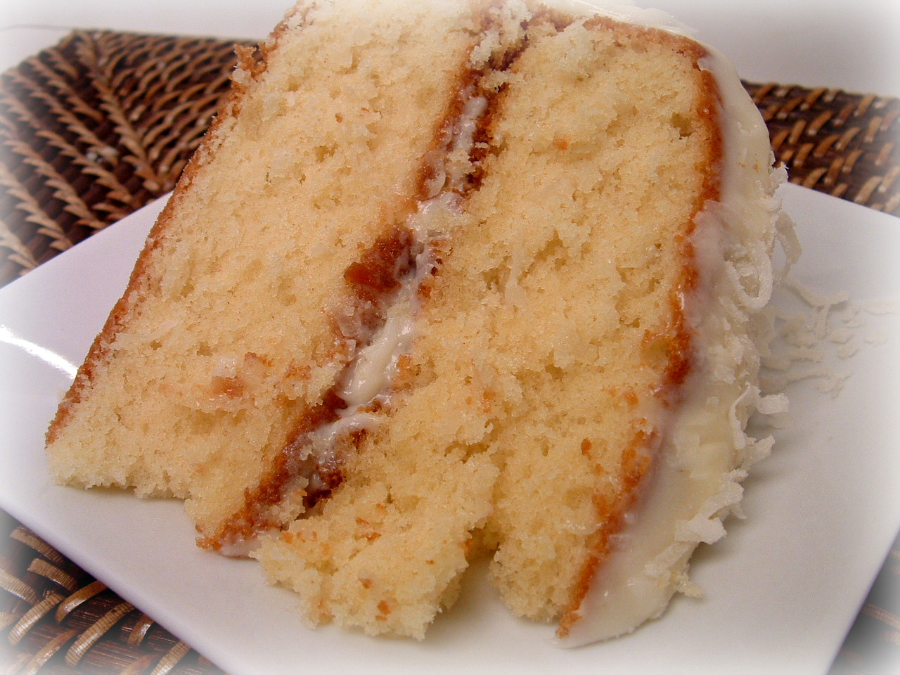 a feast for the eyes: ina garten's coconut cake - a special