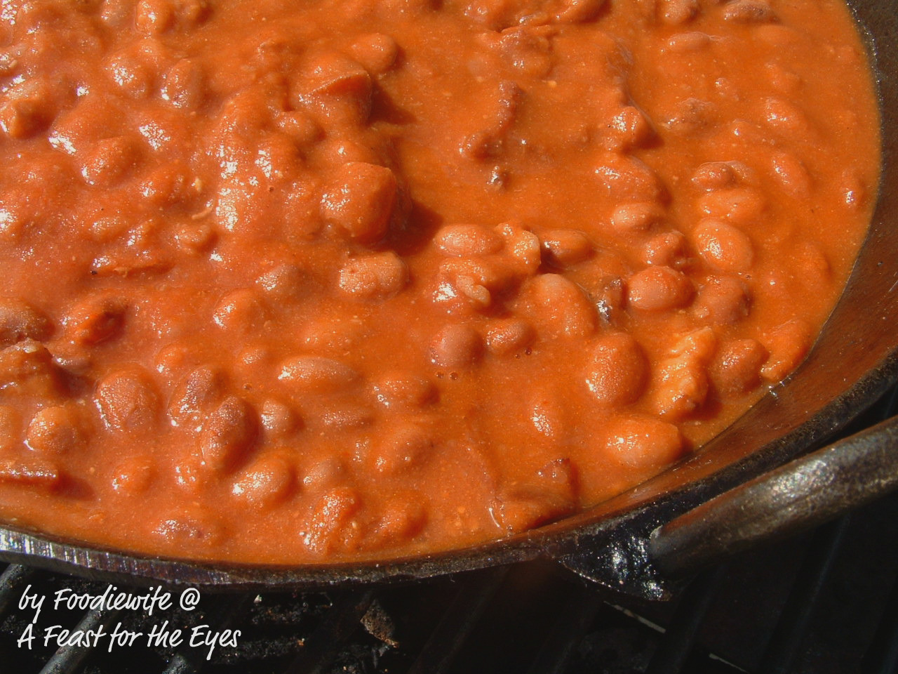 Feast for the Eyes: California Barbecue Beans (Santa Maria Style)