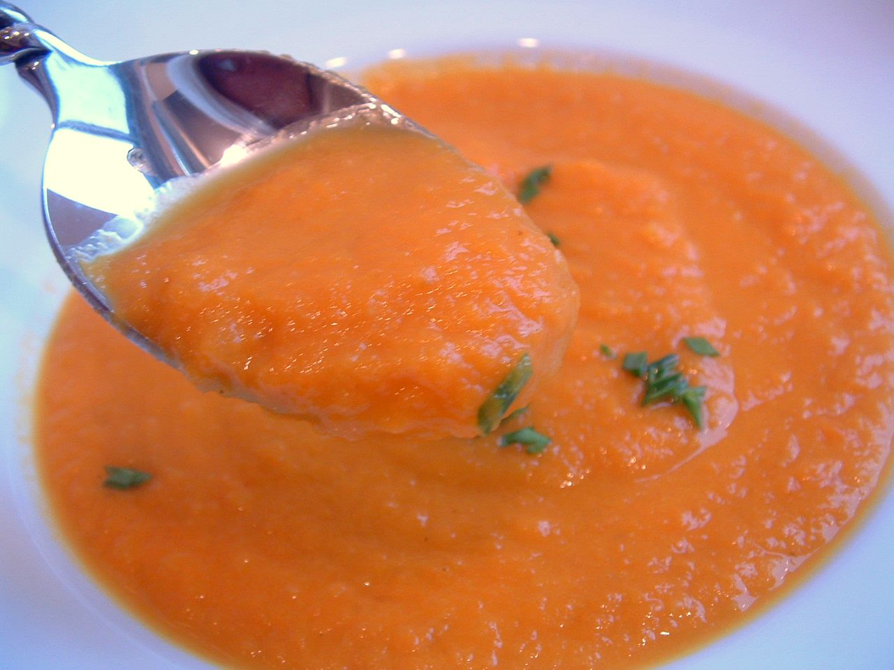 and then I took my first taste of Carrot-Ginger Soup. The miracle ...
