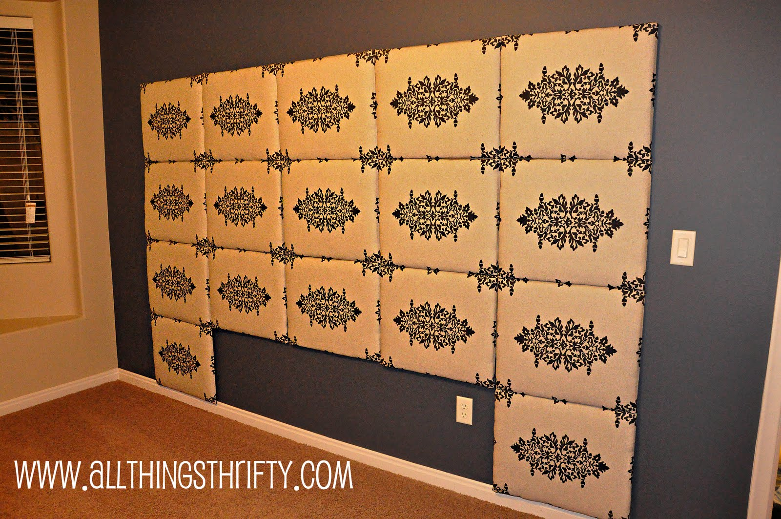Tutorial how to make a fabric headboard How to make your own headboard