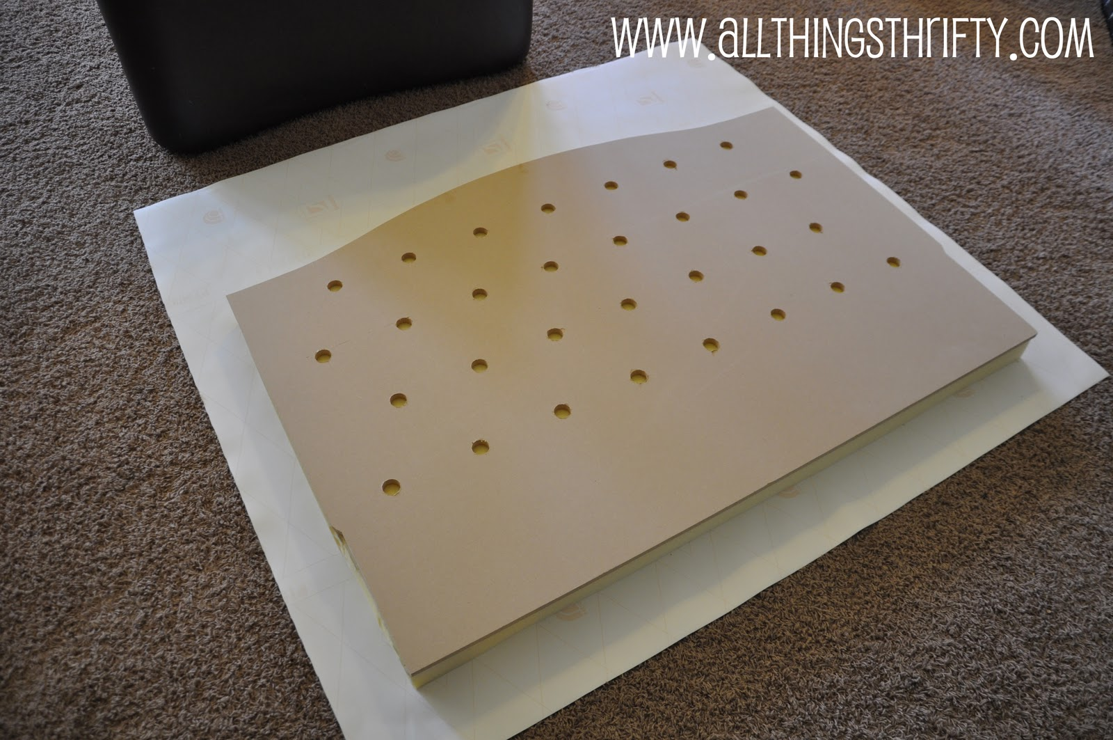 Nursery decorating ideas part 3 change your crib for cheap for How to make a cheap headboard