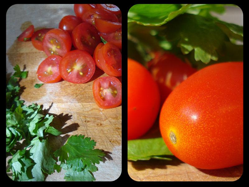 [+Tomato+Cilantro+Split+Screen]